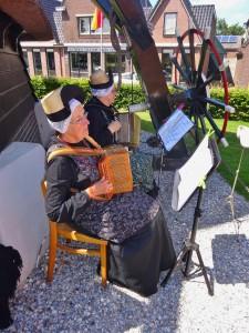 De Wieringer Madjes verzorgen een muzikaal optreden