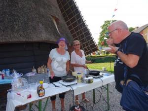 Pannenkoeken eten tijdens de Open Monumentendagen